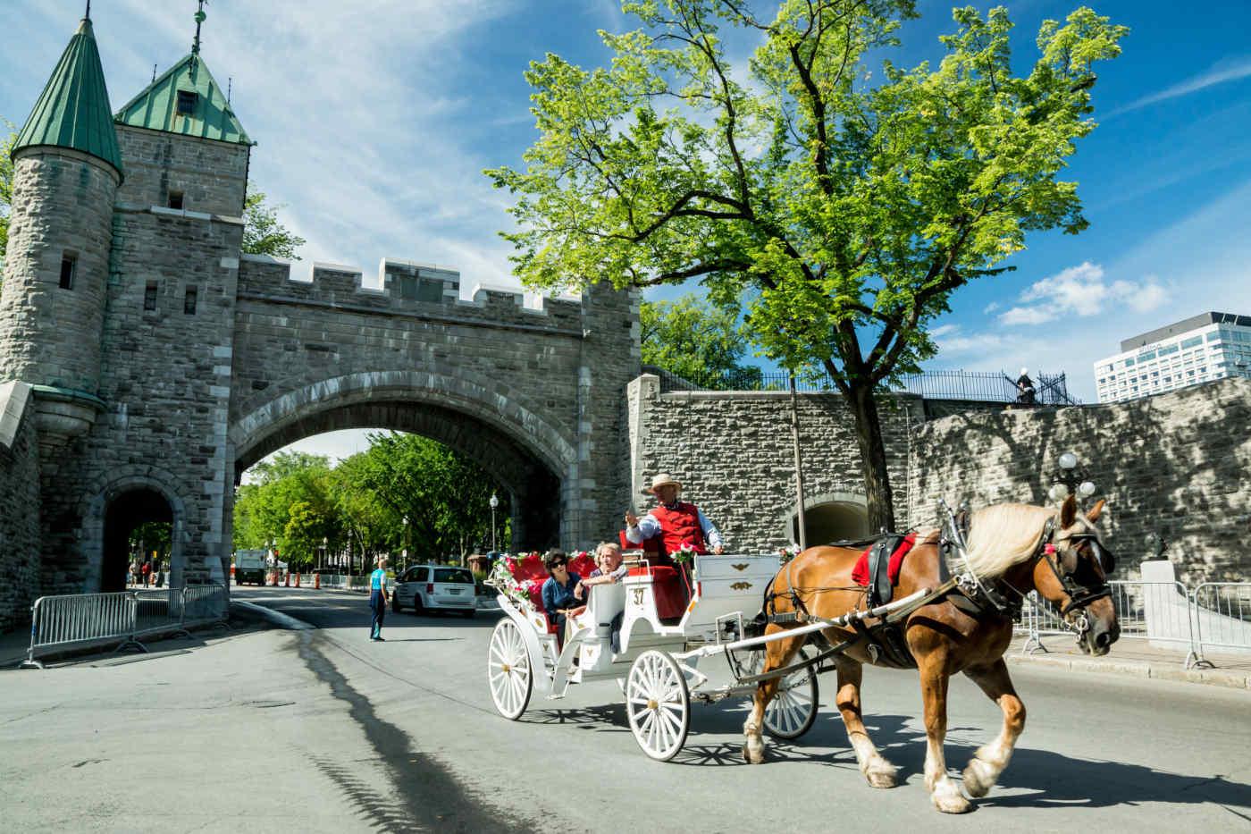 Le Québec à cheval